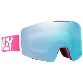 Oakley Fall Line XM Lunettes de ski, factory pilot rubine jasmine/prizm snow sapphire
